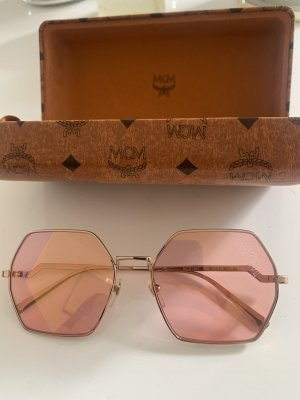 MCM Angular Shaped Sunglasses rose-gold-coloured-gold-colored