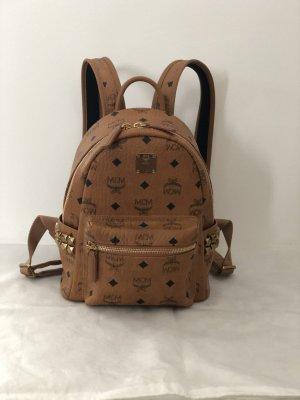 MCM Stark Backpack Mini Cognac inkl. Versand