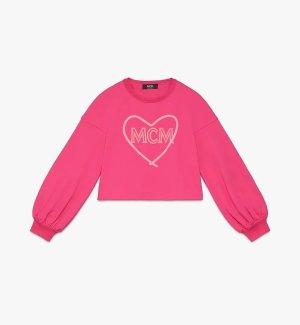 MCM Sweatshirt neonroos-roze