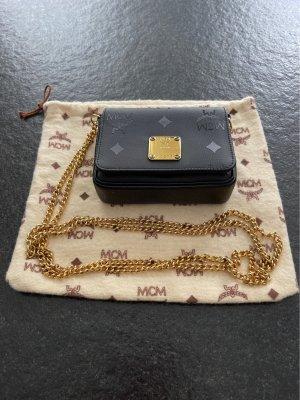 MCM Torebka mini czarny-złoto