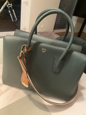 MCM Bowling Bag multicolored leather