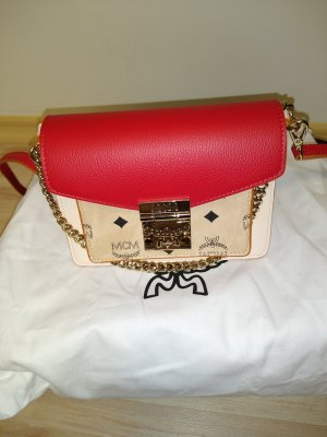 MCM Crossbody bag cream-red