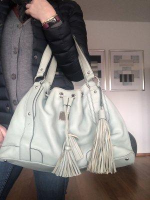 Mcm Tasche Edition Vintage Beuteltasche Echt Leder Anhänger dabei