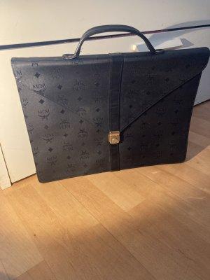 MCM Tasche Shopper schwarz neuwertig