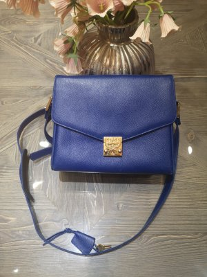MCM Tasche Vintage Ein Traum Royalblau