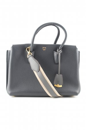 MCM Tote black-natural white business style