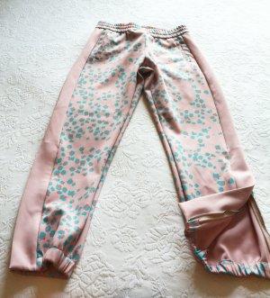MCM 3/4 Length Trousers light pink-light blue