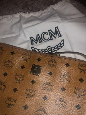 MCM Crossbody bag gold-colored-brown
