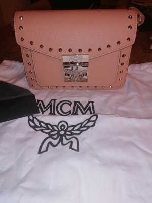 MCM Bolso marrón claro Cuero
