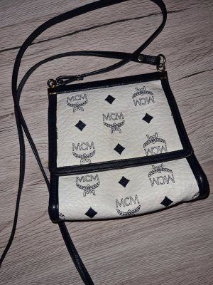 MCM Crossbody bag white-blue