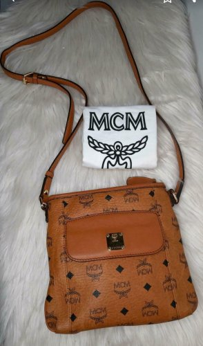 MCM Umhängtasche / Crossbody Cognac