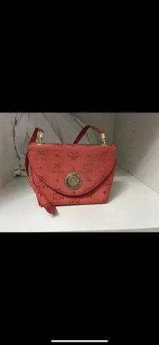 MCM Handbag red-gold-colored