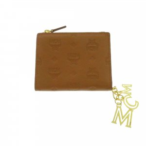 MCM Wallet brown leather