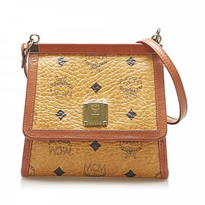 MCM Crossbody bag brown leather
