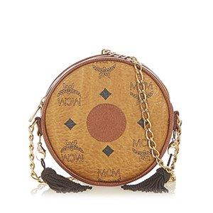 MCM Crossbody bag brown leather