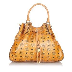 MCM Satchel brown leather