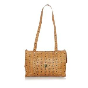 MCM Shoulder Bag brown leather
