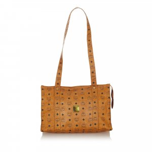 MCM Tote brown leather