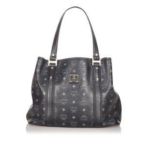 MCM Tote black leather