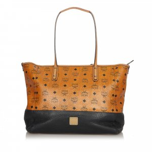 MCM Tote white leather