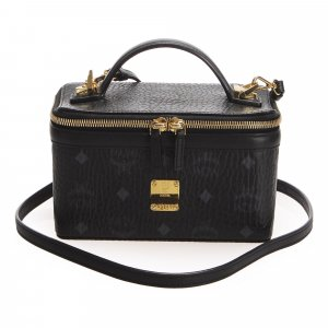 MCM Visetos Rockstar Skyoptic Leather Vanity Bag