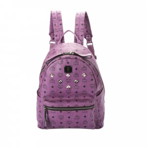 MCM Backpack purple leather