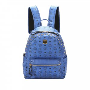 MCM Backpack blue leather
