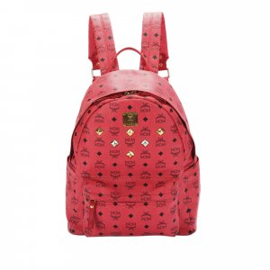 MCM Backpack red leather