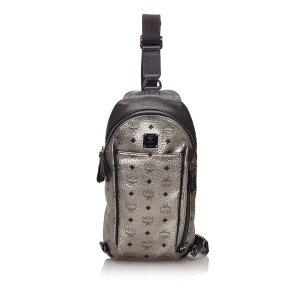 MCM Visetos Stark Sling Backpack