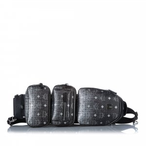 MCM Backpack black leather