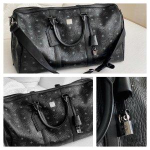 MCM Weekender Bag black