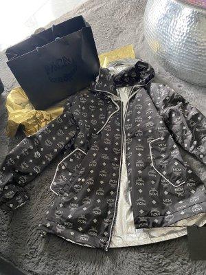 MCM Hoody black-silver-colored