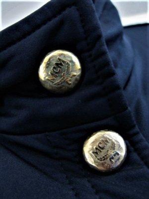 MCM Gilet de sport noir-doré tissu mixte