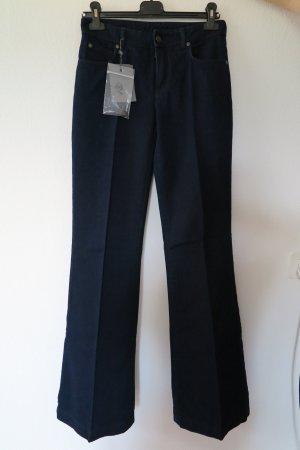 Alexander McQueen Boot Cut spijkerbroek donkerblauw