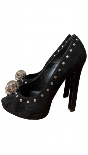 Alexander McQueen High Heels black