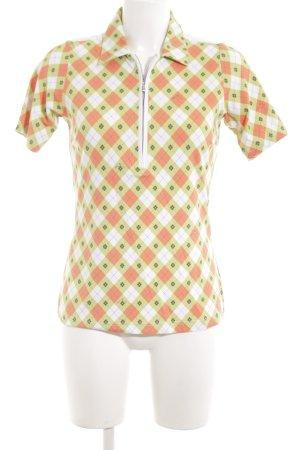 MDC Sportshirt abstraktes Muster Casual-Look