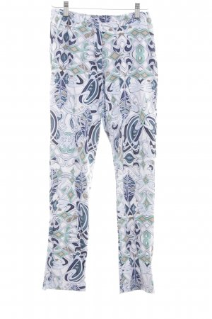 MDC Stretchhose abstraktes Muster Casual-Look