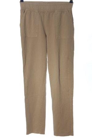 me & i Pantalon de jogging brun style décontracté