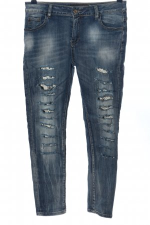 Me & Me Tube jeans blauw casual uitstraling
