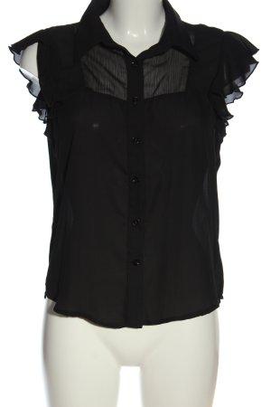 mea eor Camisa de manga corta negro look casual