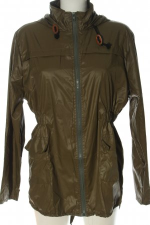 mea eor Raincoat khaki casual look