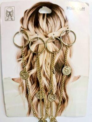Medallion Hair Cuff  Bohemian Hippie Ibiza Boho haarschmuck