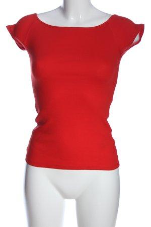 Medicine Camisa tipo Carmen rojo look casual