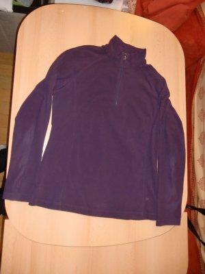 medico Sudadera de forro violeta oscuro tejido mezclado