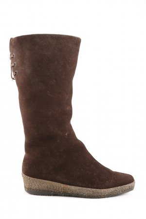 Medicus Fur Boots brown casual look