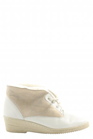 Medicus Slouch Booties white-natural white casual look