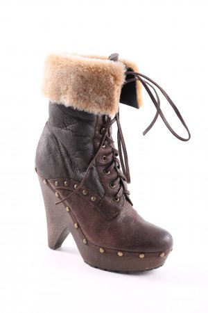 Medicus Winter Booties brown extravagant style