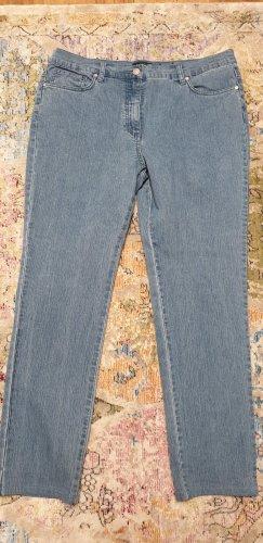 Bexleys Jeansy ze stretchu błękitny Bawełna