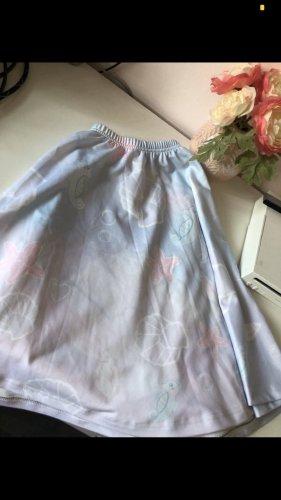 Plaid Skirt baby blue