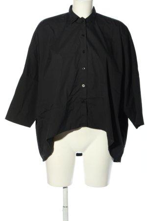 Meg shops Hemd-Bluse schwarz Business-Look